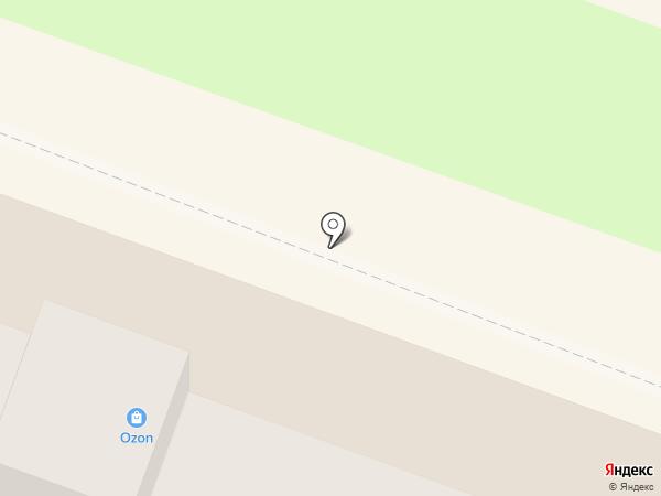 Пена на карте Балашихи