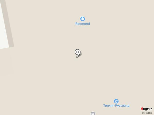 Сантехника Сити на карте Томилино