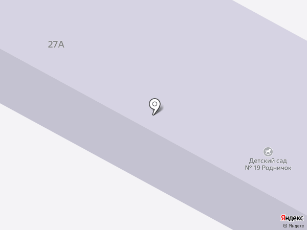 Детский сад №19, Родничок на карте Щёлково