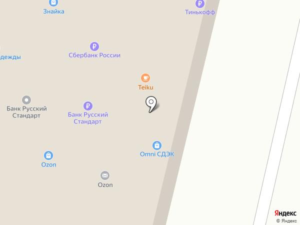 Sushi box на карте Железнодорожного