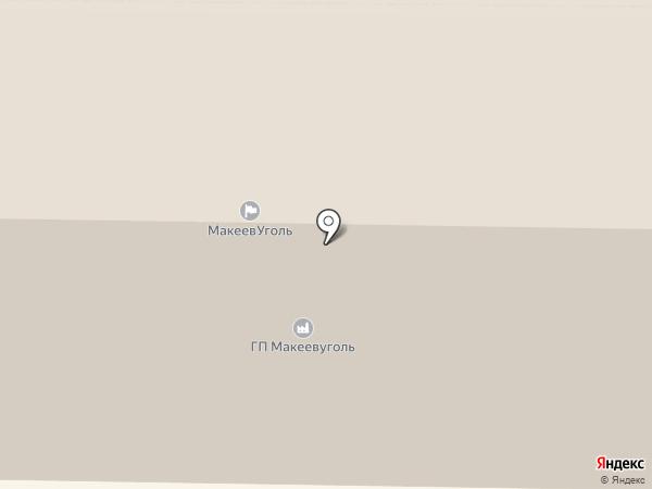 Профсоюз работников угольной промышленности на карте Макеевки