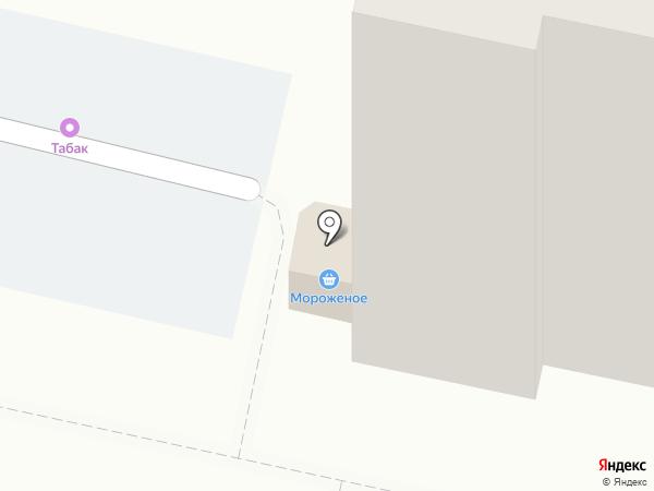 Киоск по продаже хлебобулочных изделий на карте Балашихи