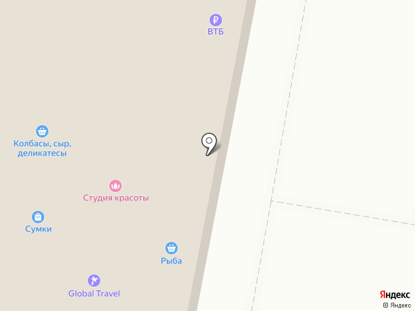 Магазин штор на карте Балашихи