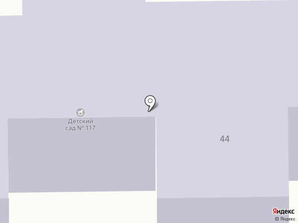 Детский сад №117 на карте Макеевки