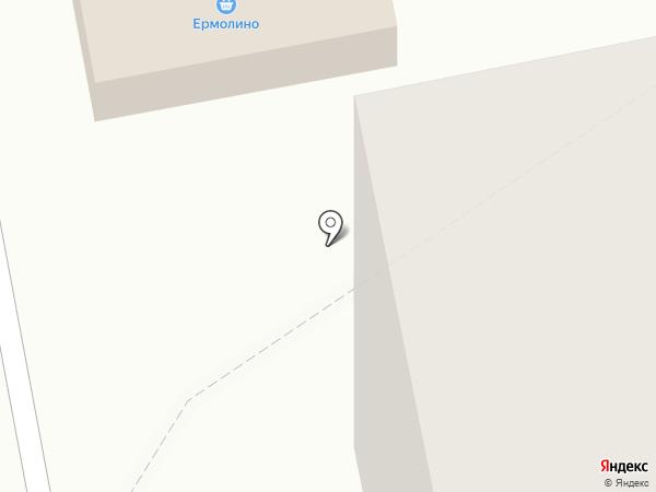 Киоск по продаже колбасных изделий, консервов и хлебобулочных изделий на карте Балашихи