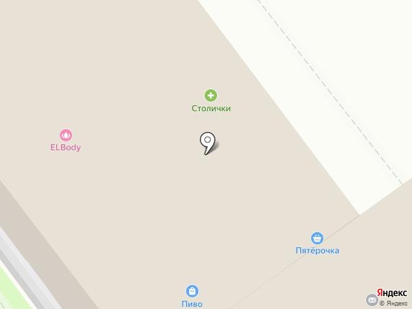 X-Line на карте Железнодорожного