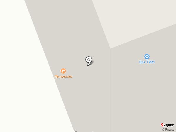 Ремонтная мастерская на карте Октябрьского