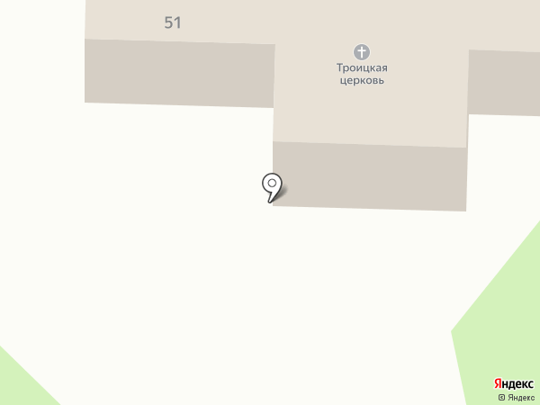 Храм сошествия святого духа на карте Октябрьского