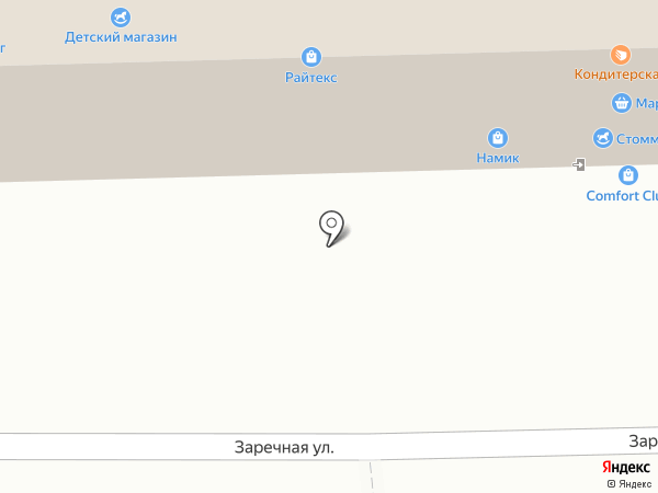 Магнит на карте Марусино
