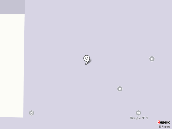 Макеевский лицей №1 на карте Макеевки