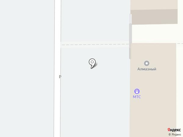 Сан Сити на карте Балашихи