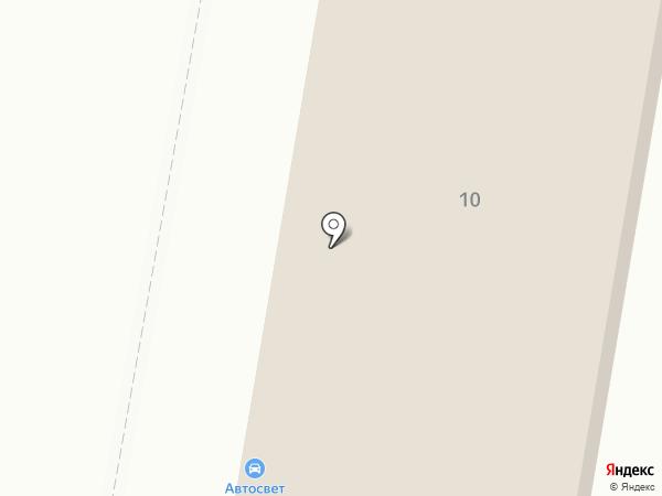 НСТ на карте Балашихи