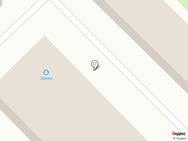 Магазин отделочных материалов на карте Марусино