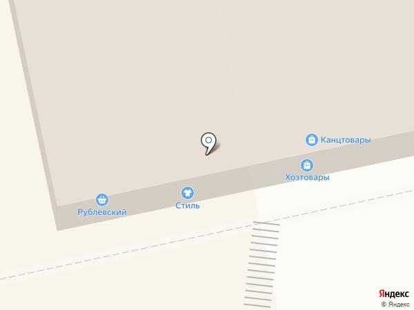 Оконный квартал на карте Балашихи