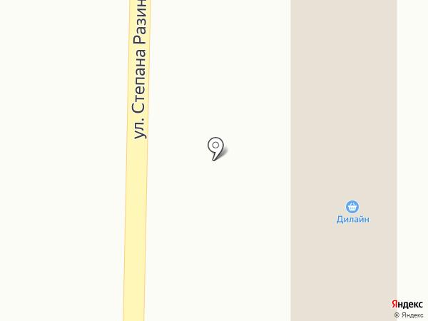 Дилайн на карте Макеевки