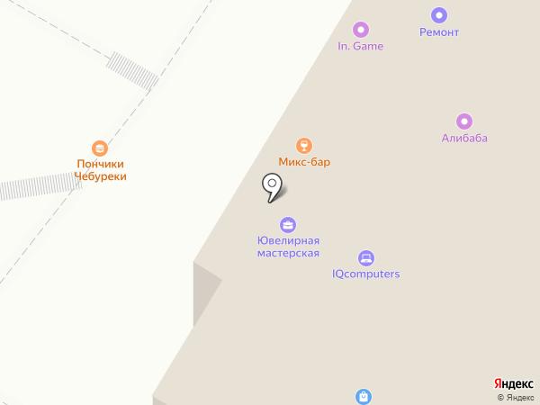 Инком на карте Балашихи