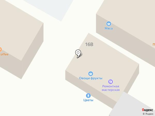 Продовольственный магазин на карте Щёлково