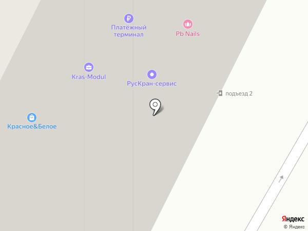 Платежный терминал, ПИР БАНК на карте Красково