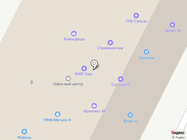 Термозит на карте Железнодорожного