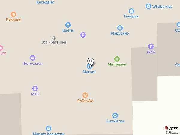 Дом быта на карте Марусино