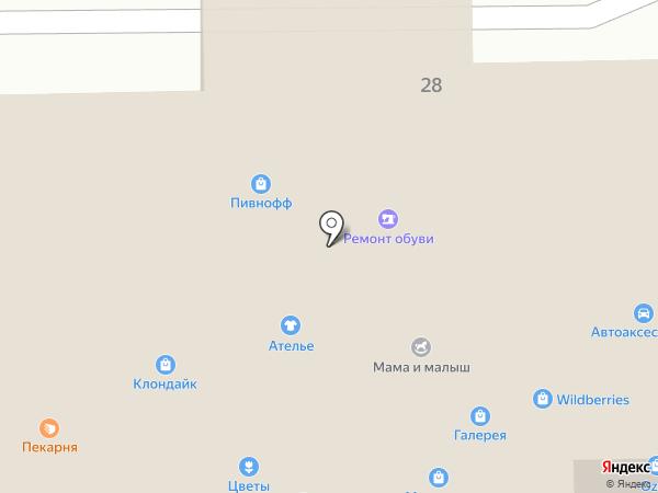 Пивнофф на карте Марусино