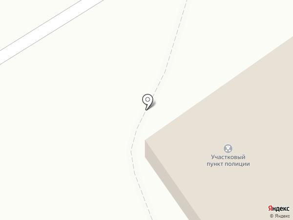 Участковый пункт полиции на карте Киреевска