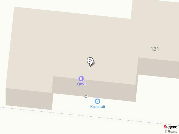 Казачий на карте Крымска