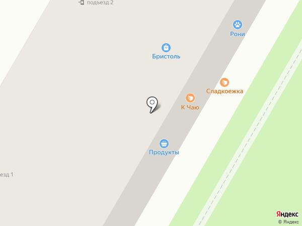 Рони на карте Щёлково