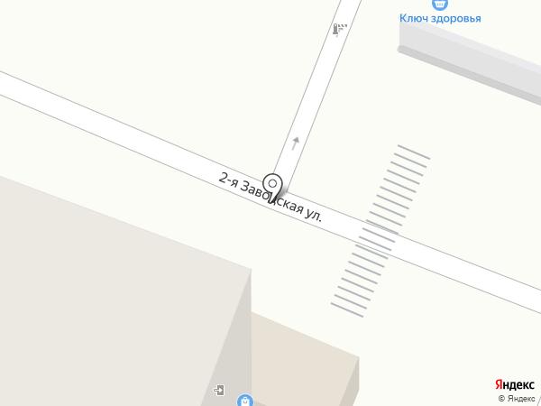Лыткаринский на карте Красково