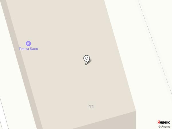 Почтовое отделение №140060 на карте Октябрьского