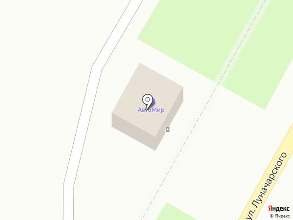 Автомир на карте Крымска