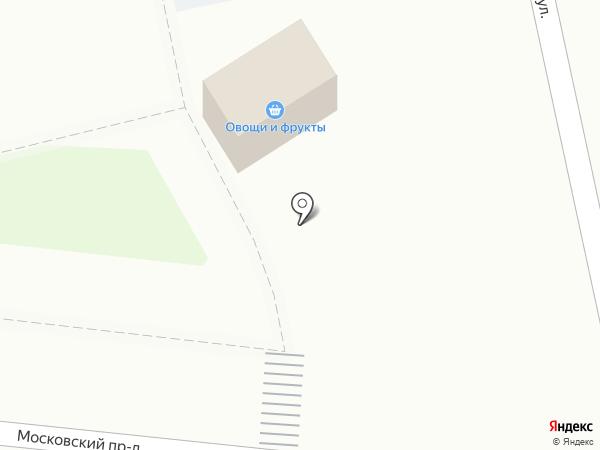 Киоск по продаже фруктов и овощей на карте Балашихи