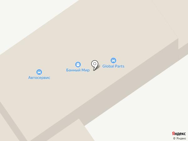 БАННЫЙ МИР на карте Щёлково