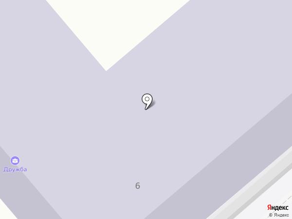 ДРУЖБА на карте Зверосовхоза
