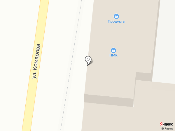 Магазин полуфабрикатов на карте Крымска