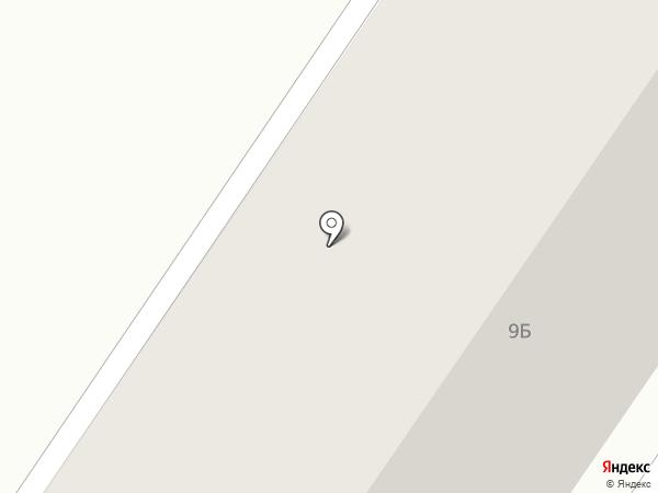 Цыпа на карте Макеевки
