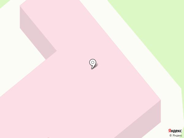 Амбулатория на карте Зверосовхоза