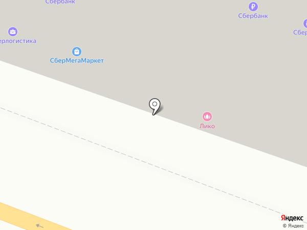 Лико на карте Красково