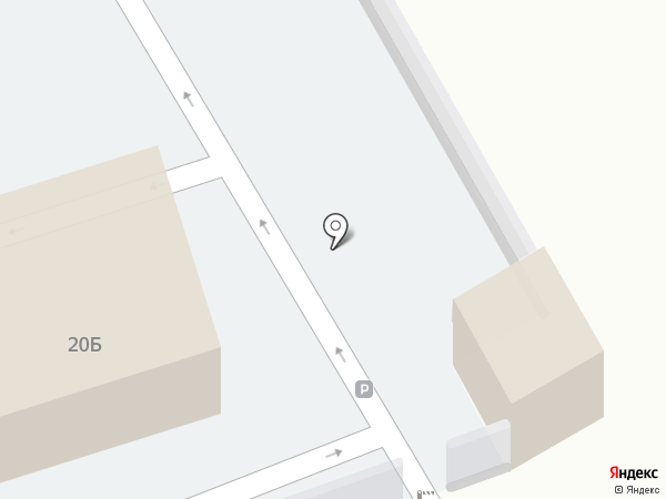 Автостоянка на ул. Репина на карте Макеевки