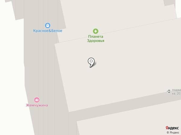 Жемчужина Виктории на карте Балашихи