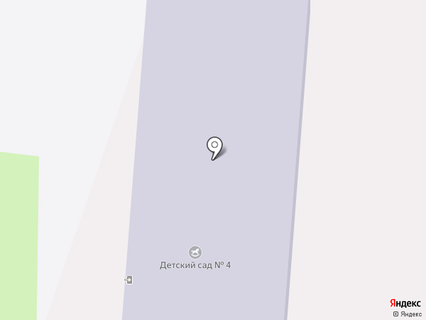 Детский сад №4 на карте Крымска
