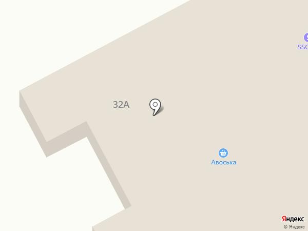 Брусничка на карте Макеевки