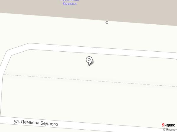 Банкомат, Газпромбанк на карте Крымска