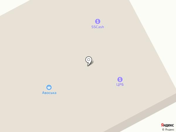 Авоська на карте Макеевки