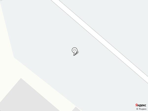 Автостоянка на Подмосковной на карте Островцев