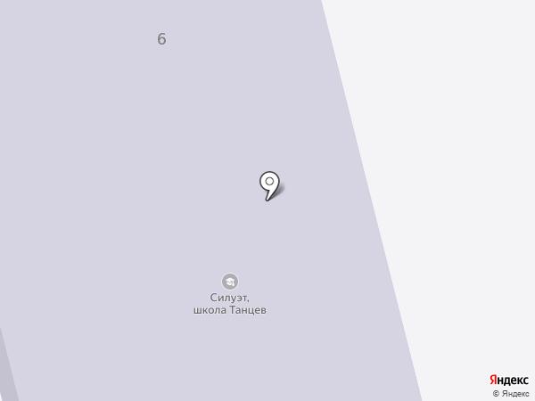 Лицей на карте Железнодорожного