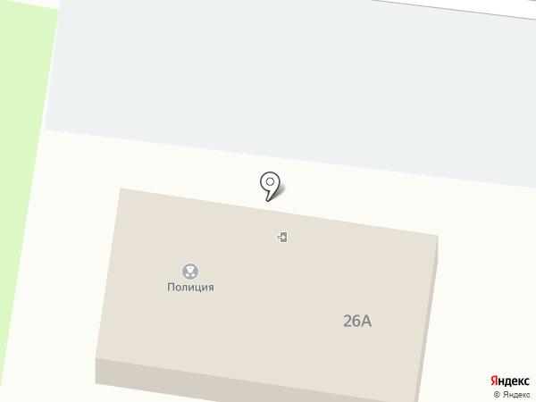 Отдел вневедомственной охраны Управления МВД РФ г. Крымск на карте Крымска