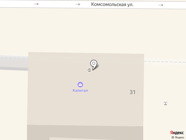 Капитал на карте Крымска