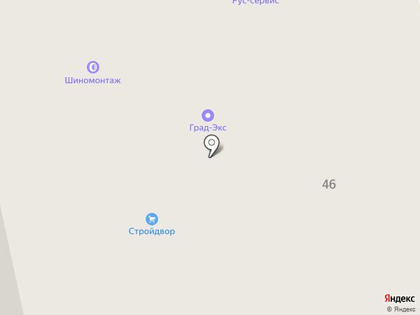 Магазин дверей и крепежа на карте Балашихи