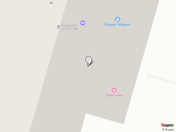 Параллели на карте Железнодорожного
